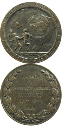 Participation Medal: World Cup 1950.