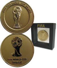 Participation Medal: World Cup 2014<br>-- Estimation: 400,00 € --